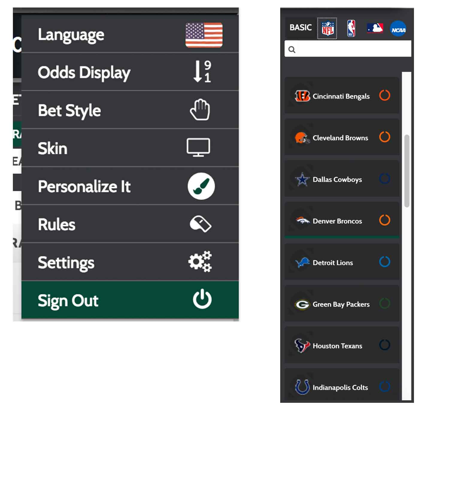 Sportsbook personalization options at PPHSportsbook.net