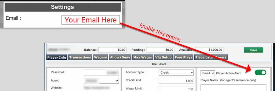 Bet Ticker wager tracker tool at pphsportsbook.net